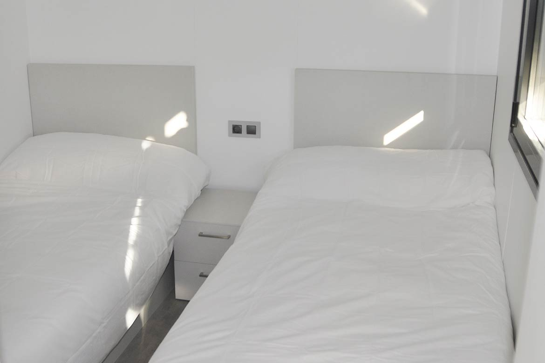 Habitación doble casa modular