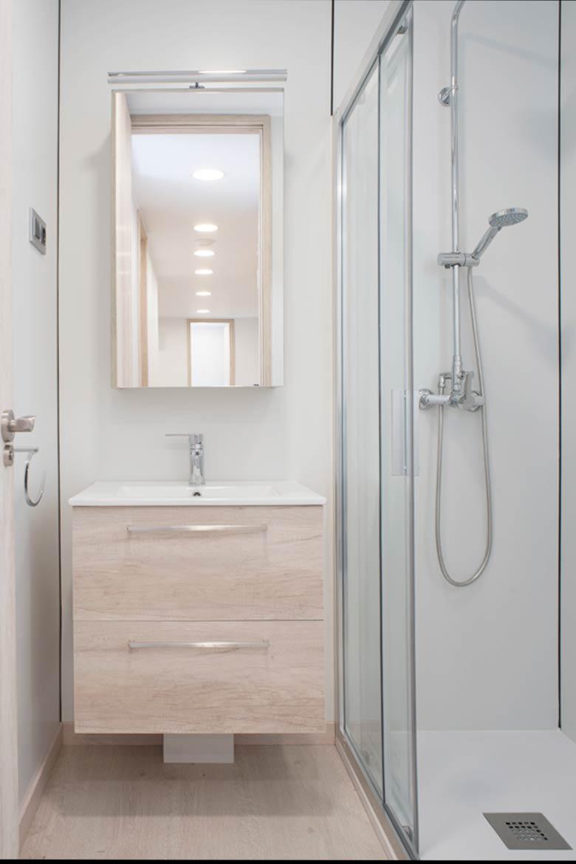 Baño casa modular.