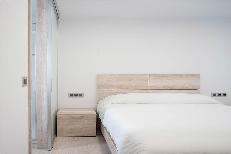 Habitación casa modular.