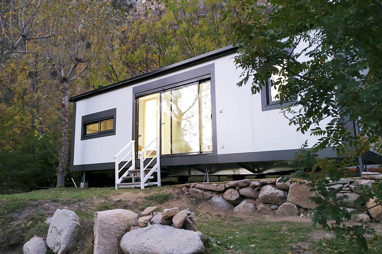 Casas prefabricadas campings.