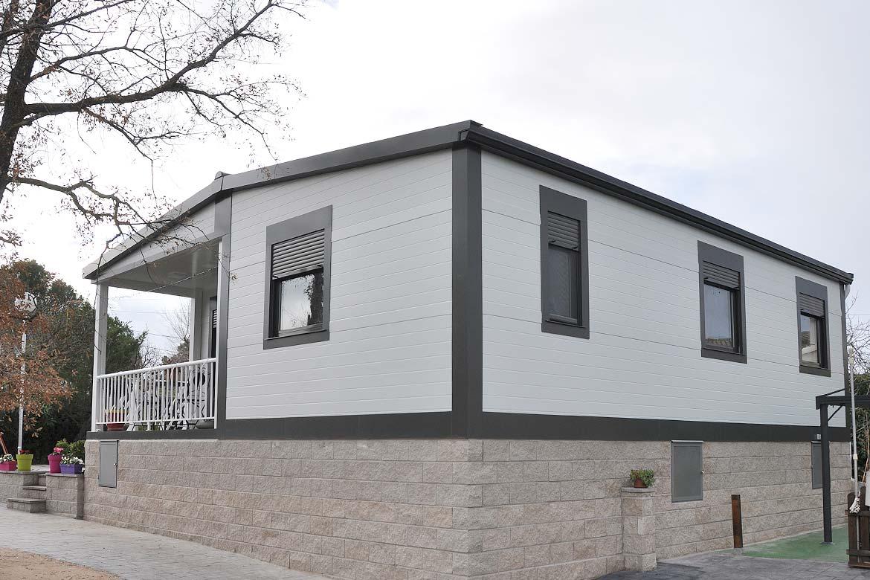 Casas prefabricadas en parcelas