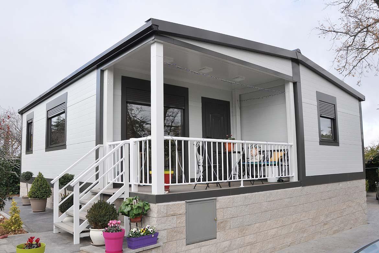 Montaje casa masterland en madrid lercasa master casas prefabricadas modulares - Casas modulares madrid ...