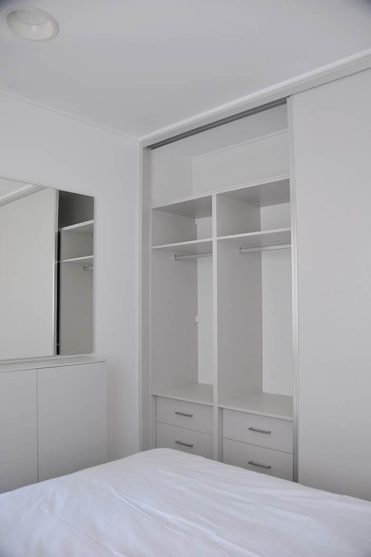 Armario empotrado casa modular