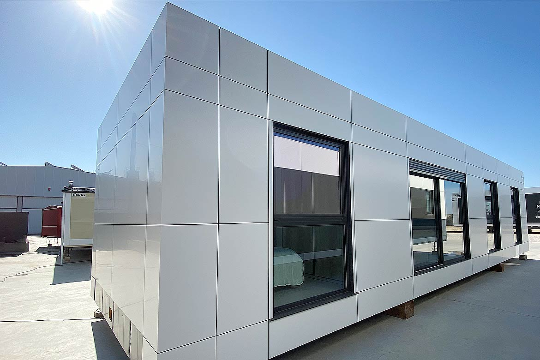 Exterior casa modular.