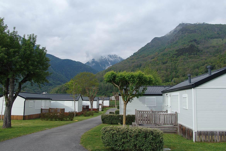 Bungalows campings de montaña