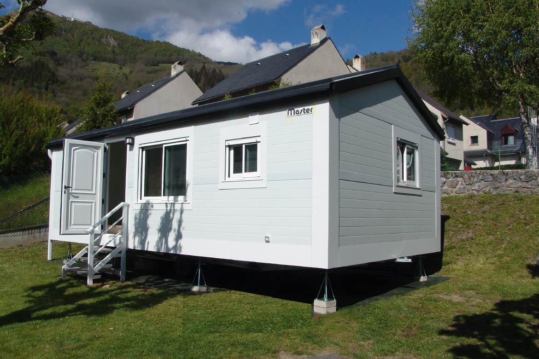Casas prefabricadas en los Pirineos