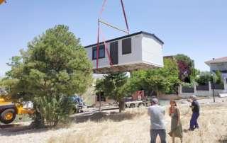 Montaje casas prefabricadas en Guadalajara.