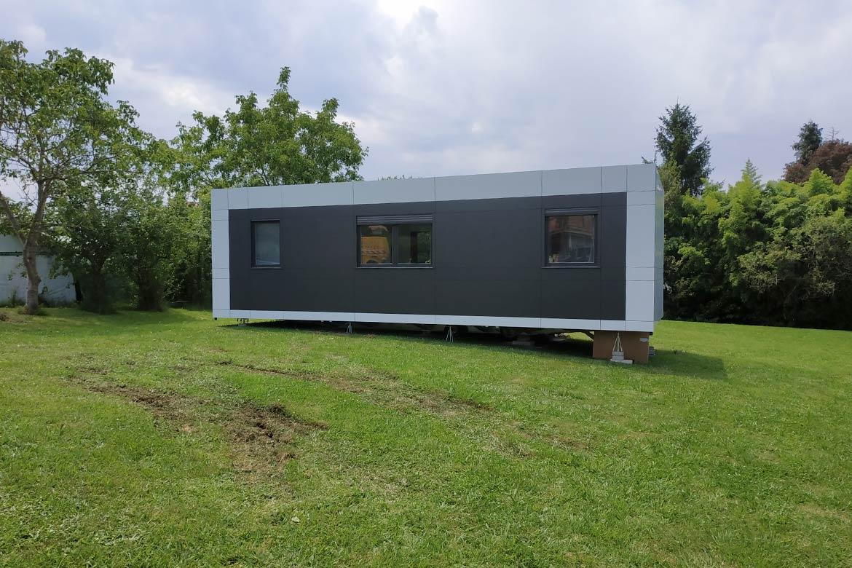 Vivienda modular para el campo.