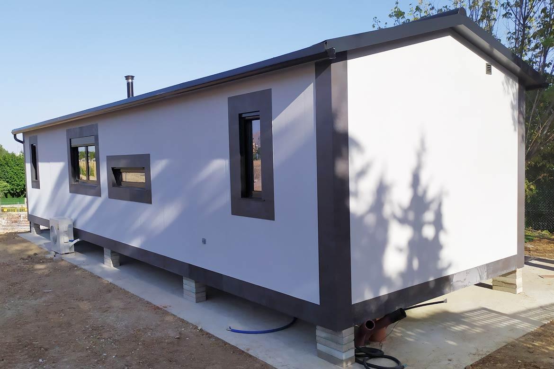 Casas prefabricadas zona norte de Madrid