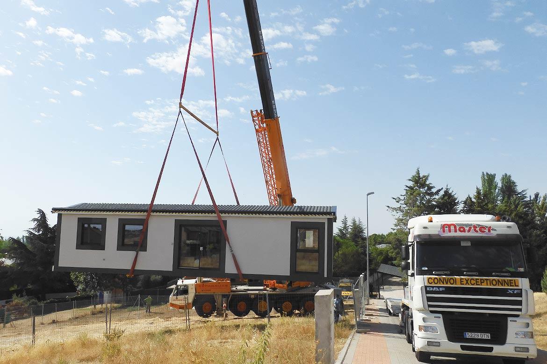 Montaje casa modular
