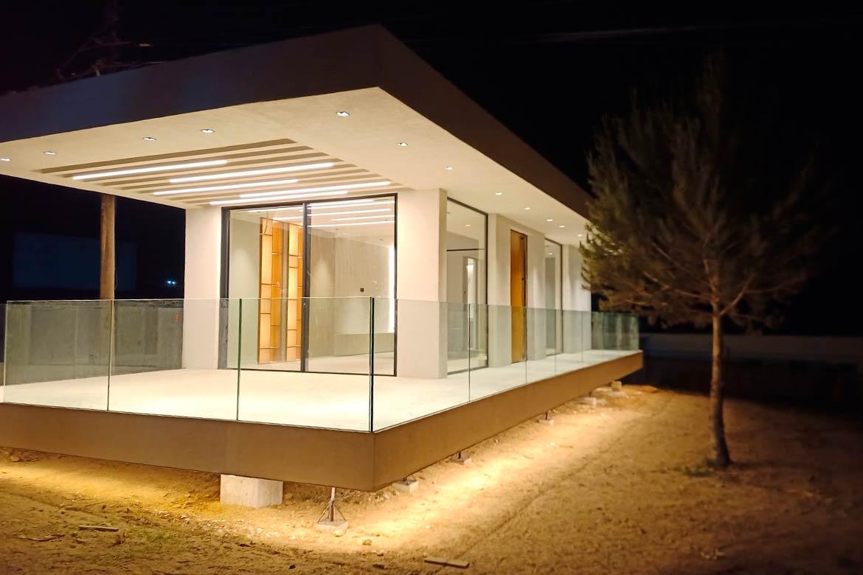 Construcción modular de diseño.