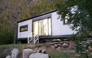 Casas prefabricadas campings y resorts.