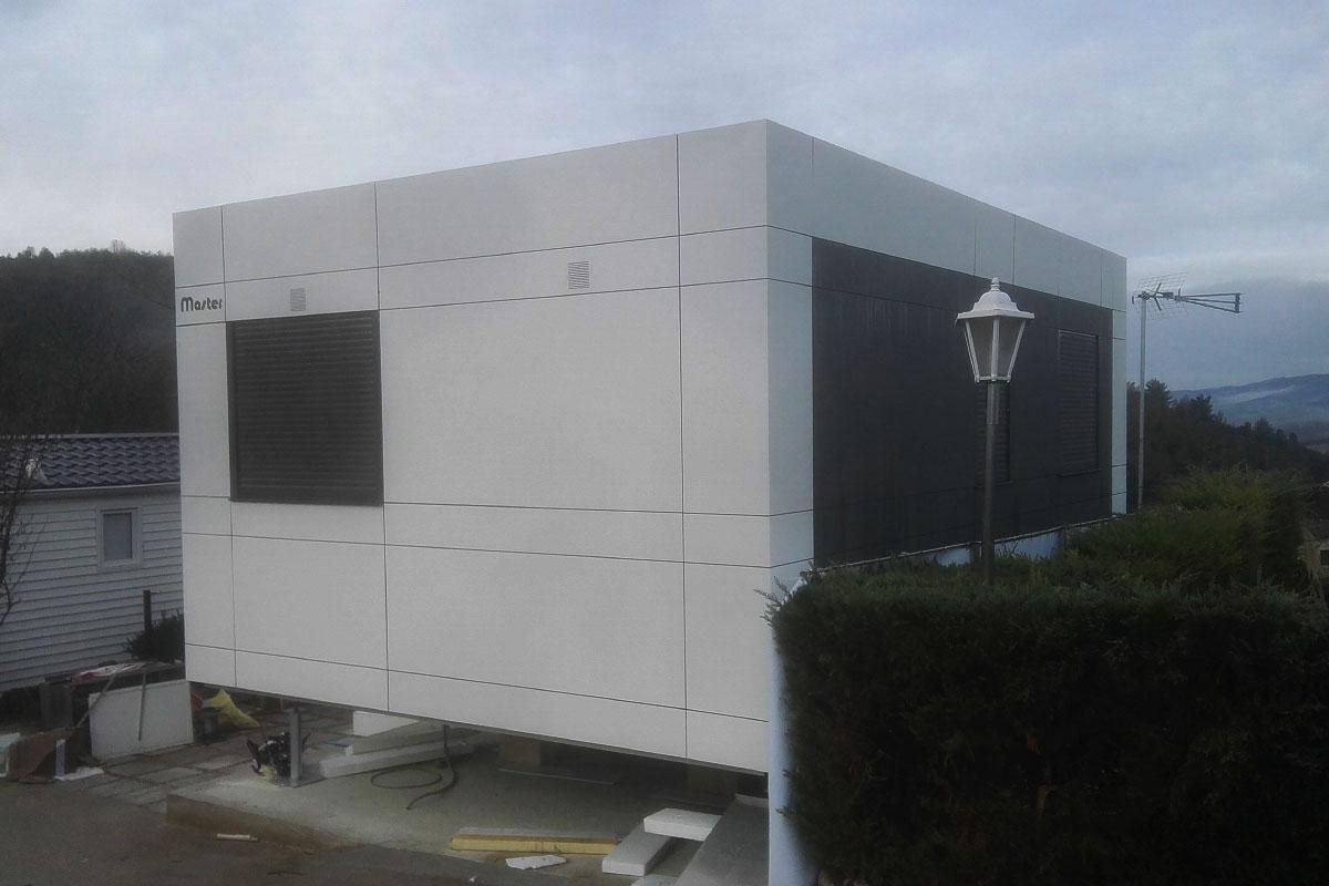 casa prefabricada masterclass camping álava lateral
