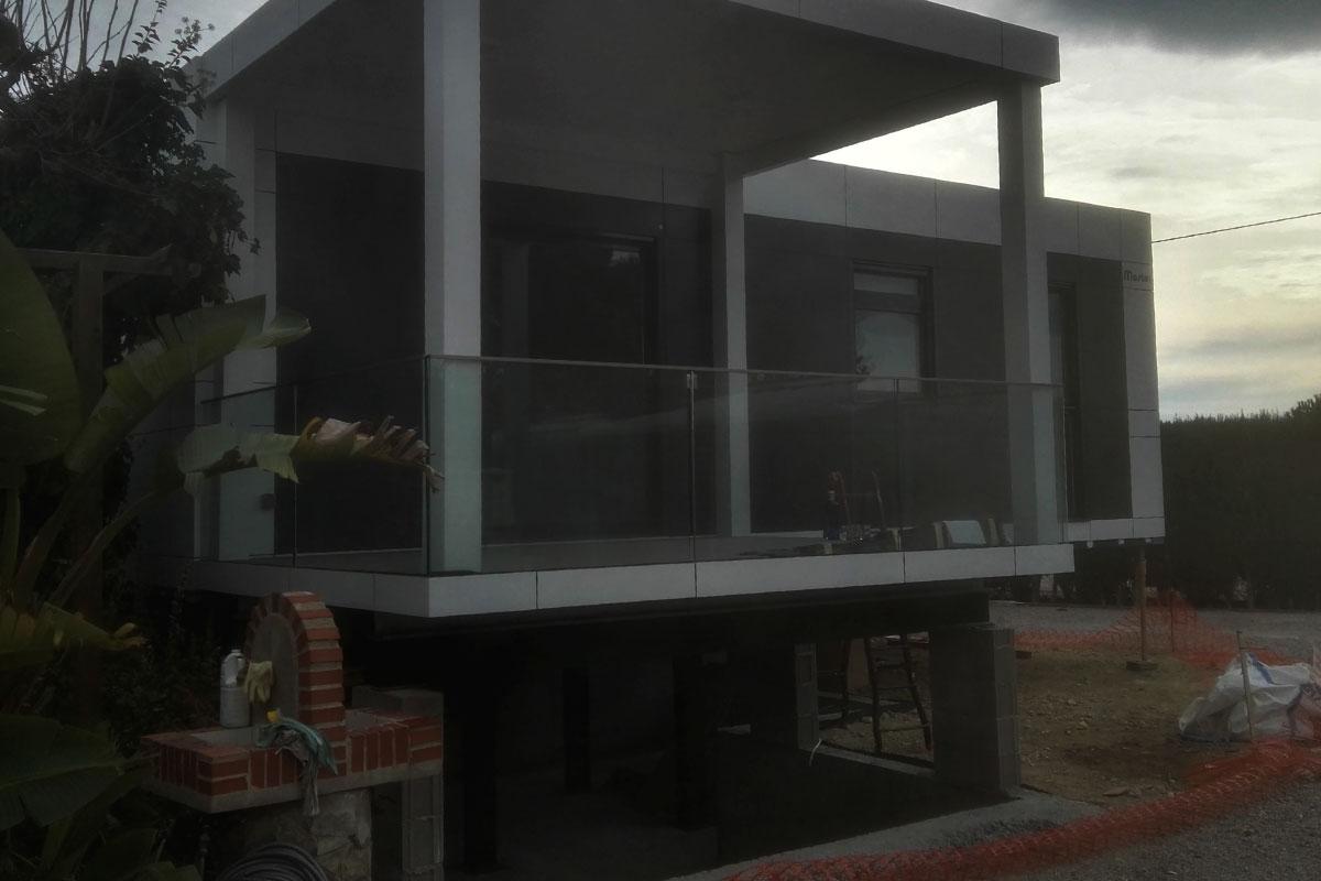 casa prefabricada masterclass camping tarragona elevada