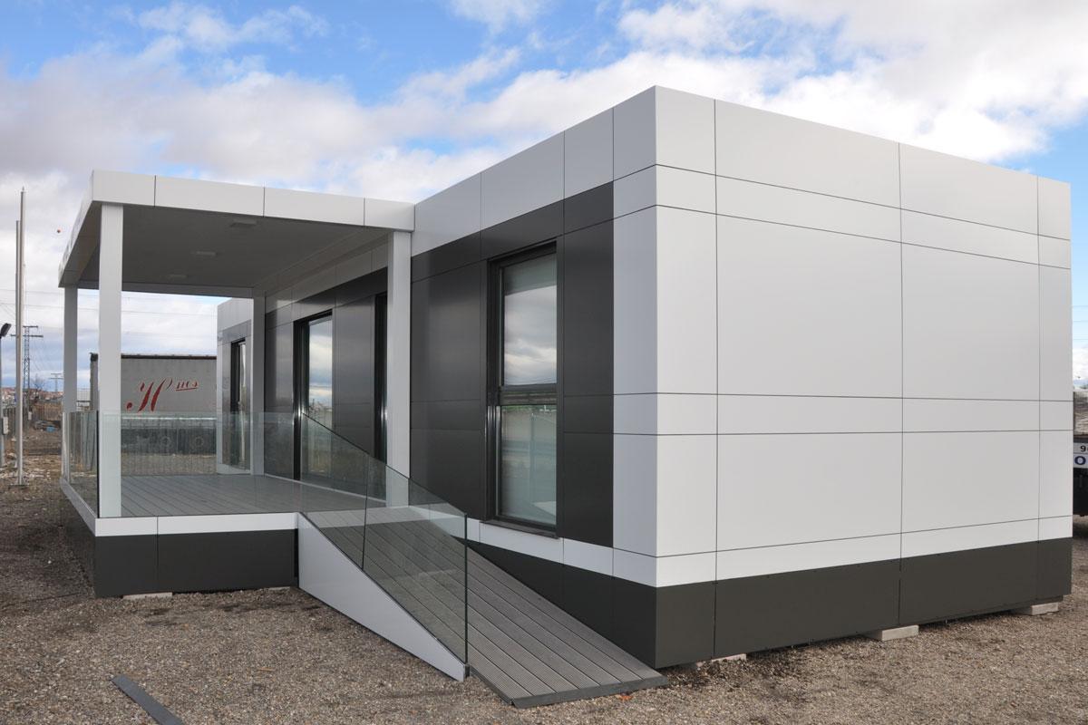Modelo mc59 en algete madrid lercasa master casas prefabricadas modulares - Casas modulares madrid ...
