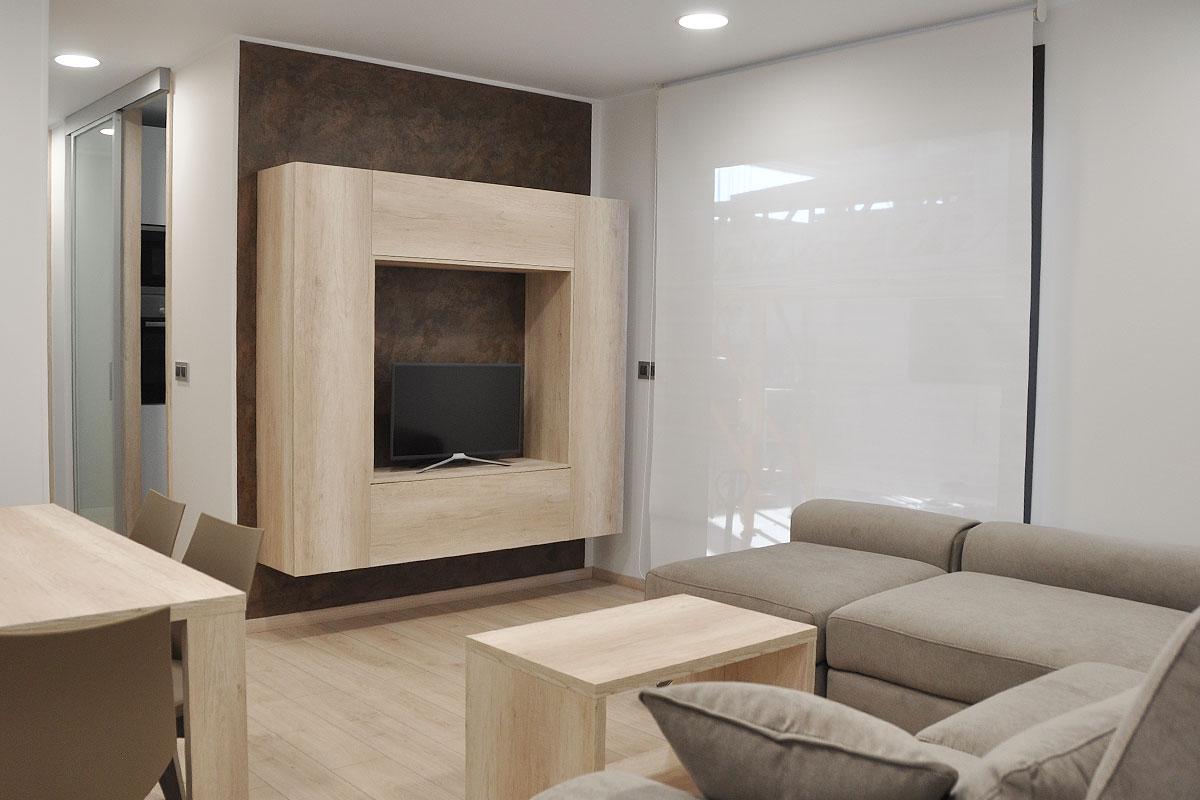 Interior casa prefabricada