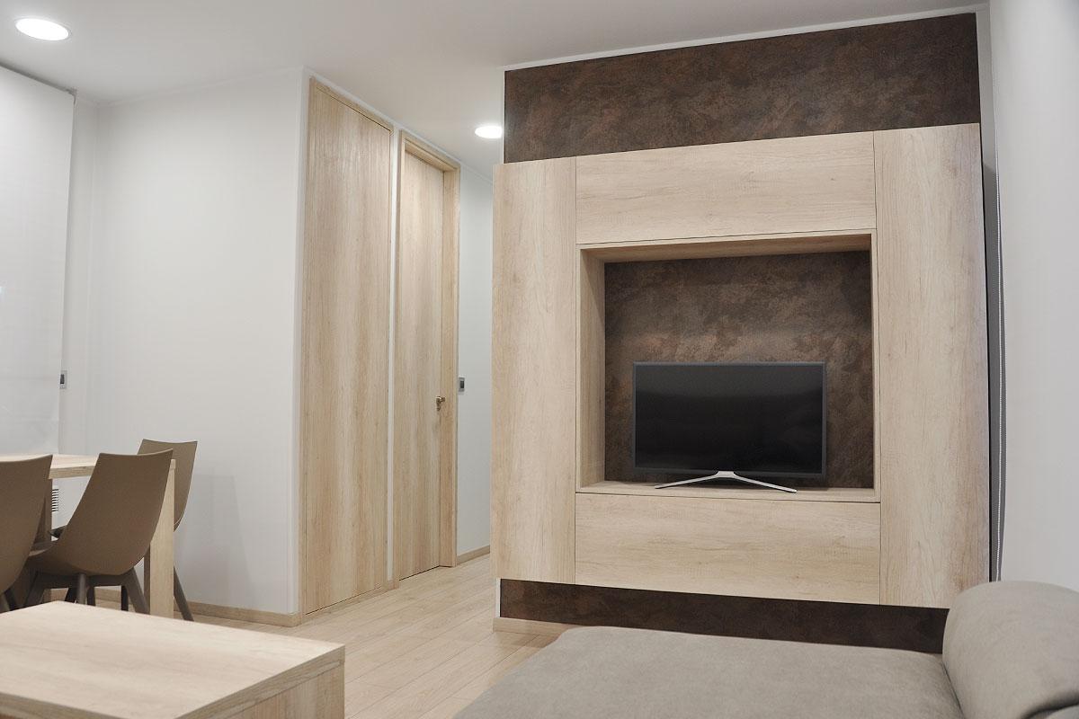 Interior casa prefabricada Algete