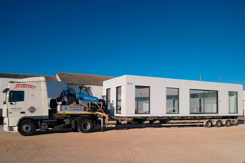 Casas prefabricadas MC59 blanca